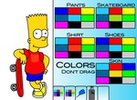 Decoration-game-with-bart-and-skate