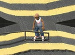 Figures-in-skateboard-game