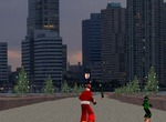 Skateboard-game-with-santa