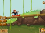 Skate-თამაში-monkey-in-jungle